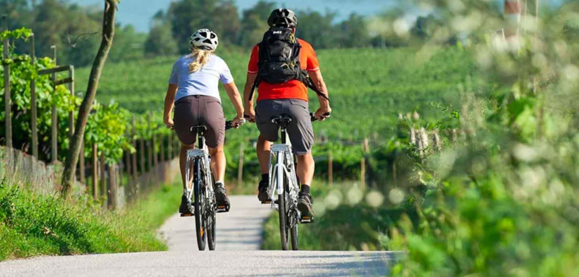 Giro in bici tra i vigneti a Montepulciano