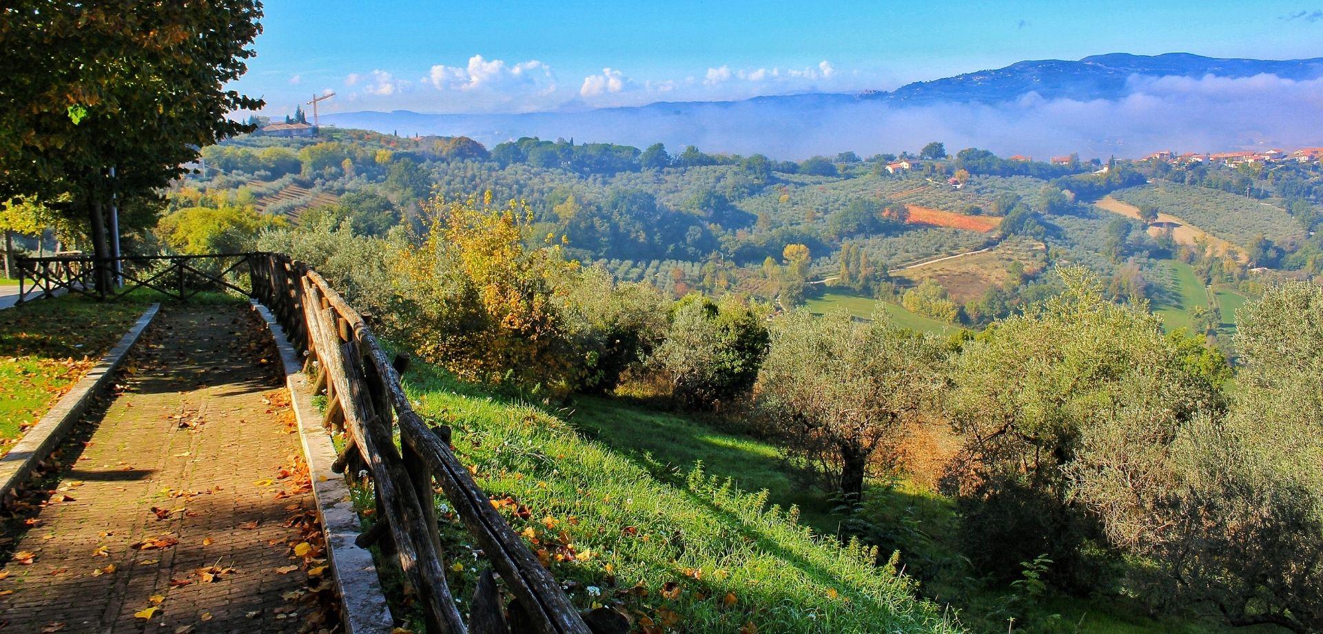 Umbria in bici: itinerari e-bike a Saragano