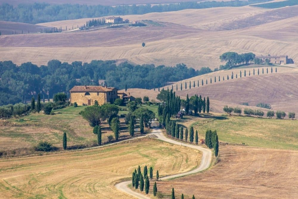 val d orcia cosa vedere